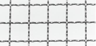 クリンプ金網