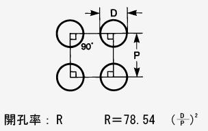 丸孔 並列型