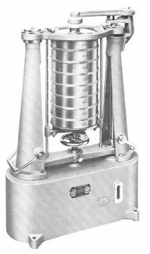 ロータップ型ふるい振盪機